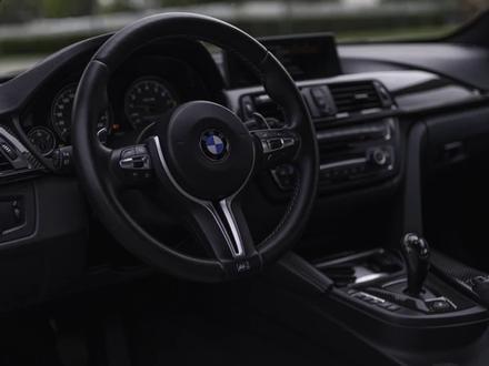 BMW M4 2015 года за 21 000 000 тг. в Алматы – фото 4