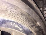 Диски с резиной Nissan X-Trail 215/55/17 за 200 000 тг. в Кызылорда – фото 2