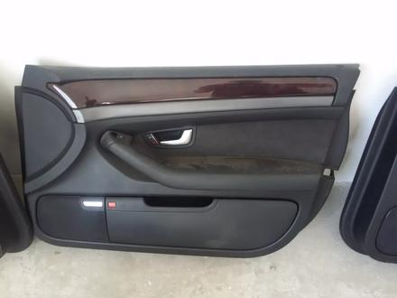 Обшивка дверей на Audi a8 d3 дверные карты за 90 000 тг. в Алматы – фото 4