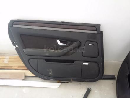 Обшивка дверей на Audi a8 d3 дверные карты за 90 000 тг. в Алматы – фото 6