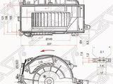 Мотор отопителя салона AUDI s6 05- за 17 300 тг. в Алматы
