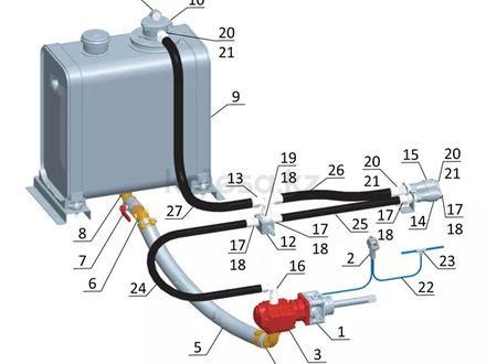 Гидрофикация седельных тягачей в Алматы – фото 30