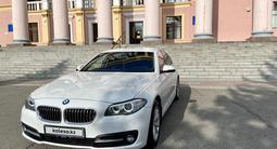 BMW 520 2013 года за 9 500 000 тг. в Усть-Каменогорск – фото 2