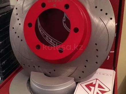 Перфорированные тормозные диски Gerat Original передние на BMW X1. E84 за 20 500 тг. в Алматы – фото 3