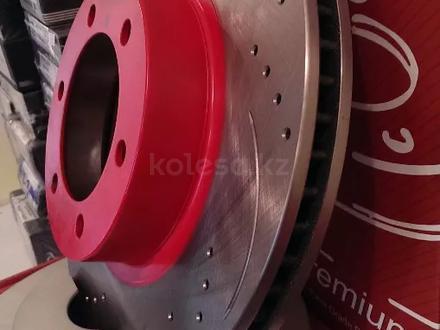 Перфорированные тормозные диски Gerat Original передние на BMW X1. E84 за 20 500 тг. в Алматы – фото 4